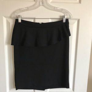 Cynthia Rowley black skirt